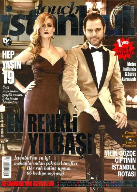 Tardu Flordun, Canan Erguder - Touch Istanbul Magazine Cover [Turkey] (December 2011)