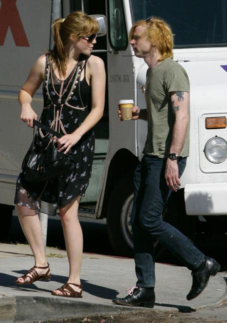 Mandy Moore and Ryan Adams Mandy Moore With Rocker Ryan Adams After Leaving Her Home In Los Angeles, 2008-05-15