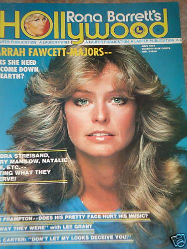 Farrah Fawcett - Rona Barrett's Hollywood Magazine [United States] (July 1977)