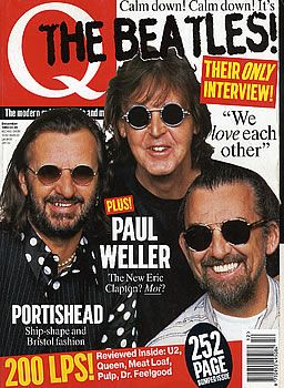Ringo Starr - Q Magazine [United Kingdom] (December 1995)