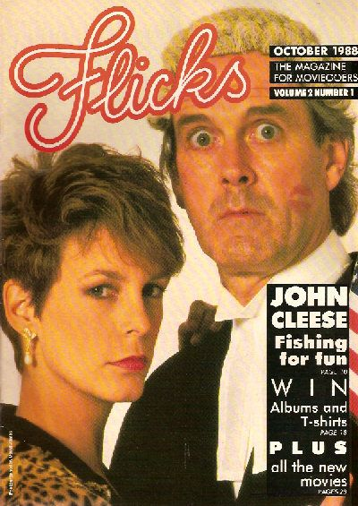 Jamie Lee Curtis - Flicks Magazine [United Kingdom] (October 1988)