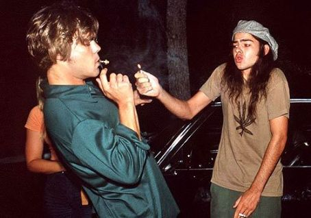 Ron Slater Rory Cochrane As  And Sasha Jenson As Don Dawson In Dazed And Confused (1992).