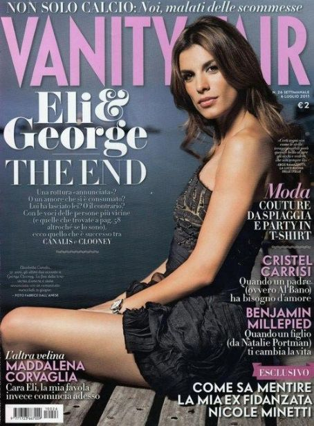 Elisabetta Canalis - Vanity Fair Magazine Cover [Italy] (29 June 2011)