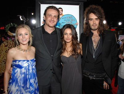 Jason Segel and Mila Kunis - Forgetting Sarah Marshall -- Los Angeles Premiere