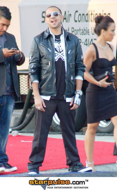 Sean Paul and Jodi Stewart - Sean Paul's girlfriend Jodi 'Jinx' Stewart - BET awards