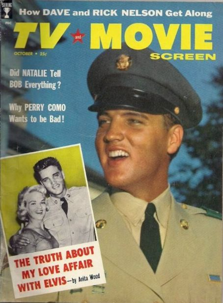 Elvis Presley - TV and Movie Screen Magazine [United States] (October 1958)
