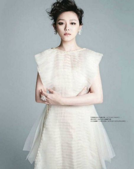 Barbie Hsu Elle Taiwan March 2012