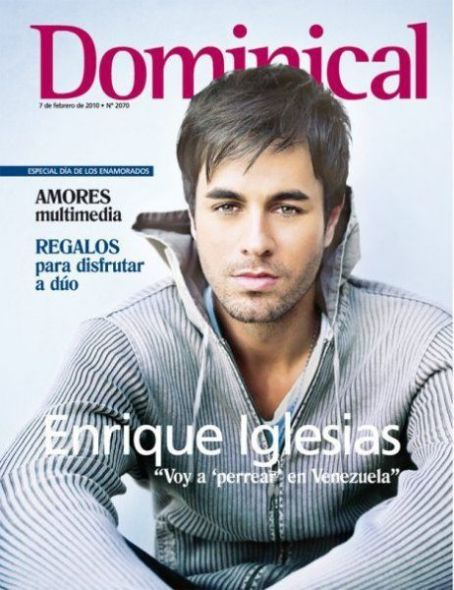 Enrique Iglesias - Dominical Magazine Cover [Spain] (7 February 2010)