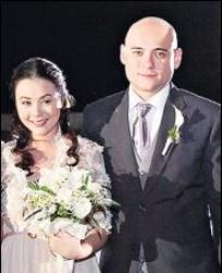 Ryan Eigenmann  and Cathy Bordalba Wedding