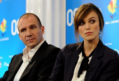 Ralph Fiennes and Keira Knightley - 2008 Toronto International Film Festival - The Duchess - Press Conference and Premiere