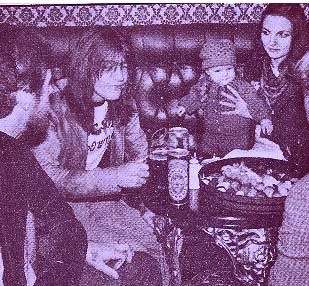 Malcolm Young Malcolm and Linda Young