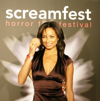 Rochelle Aytes Screamfest Opening night party - Hollywood Roosevelt Hotel, 10 October 2008