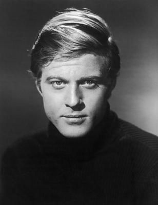 Portraits of a young Robert Redford