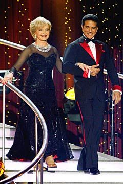 Corky Ballas Corky with Florence Henderson at Dancing With The Stars 2010