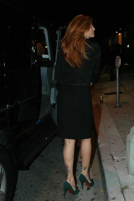 Angie Everhart - Koi Restaurant In West Hollywood 2007-09-06