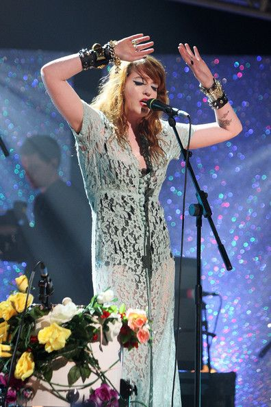 Florence Welch Announcement of the Brit Award nominations, January 20, 2009