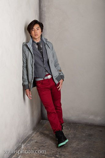 Justin Chon - Wallis Photo Shoot