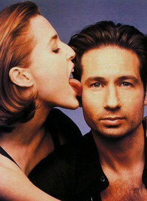 Gillian Anderson and David Duchovny - Gillian and David