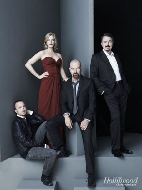 "Aaron Paul - With their hit show set to kickoff season five on July 15th, the stars of ""Breaking Bad"" garnered themselves a little added exposure by covering the latest issue of The Hollywood Reporter magazine"