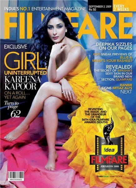 Kareena Kapoor - Filmfare Magazine [India] (2 September 2009)