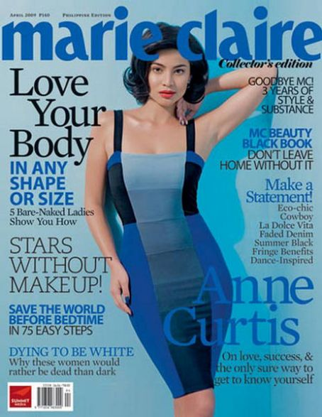 Anne Curtis (II) - Marie Claire Magazine [Philippines] (April 2009)