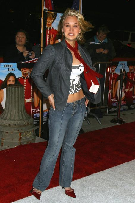 Kaley Cuoco - 'What A Girl Wants' Los Angeles Premiere At The Cinerama Dome Theater On March 27, 2003 In Hollywood, California