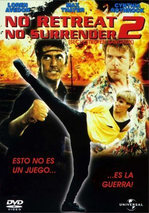 No Retreat, No Surrender 2 (1987) Poster