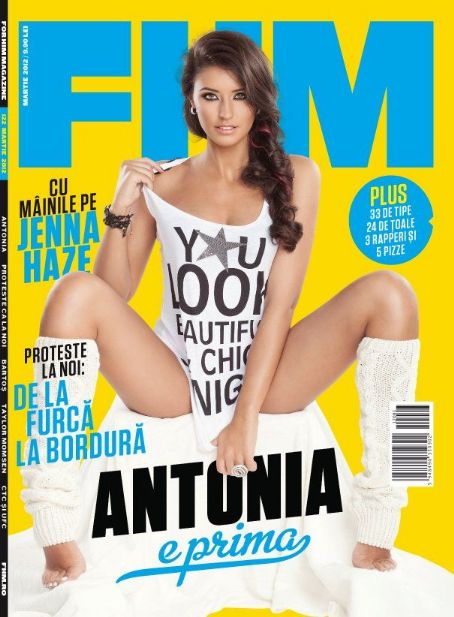 Antonia Iacobescu  FHM Romania March 2012