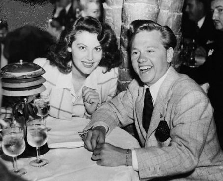Ava Gardner and Mickey Rooney Mickey Rooney and Ava Gardner