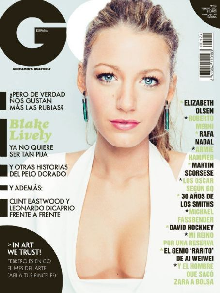 Blake Lively - GQ Magazine Cover [Spain] (February 2012)