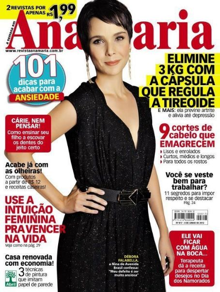 Ana Maria Magazine Cover [Brazil] (8 June 2012)