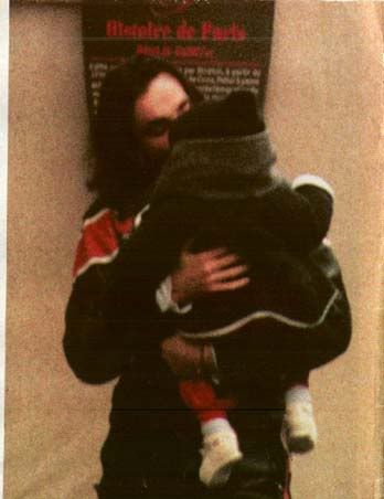 Daniel Day-Lewis - With his son he had with Isabelle Adjani - Gabriel Kane