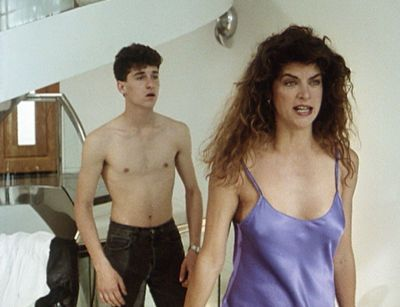 Loverboy Kirstie Alley and Patrick Dempsey in  (1989)