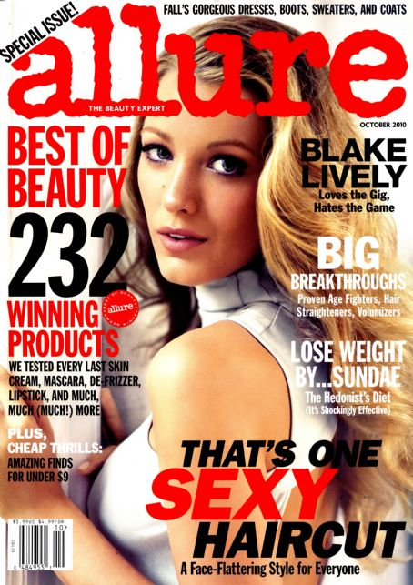 Blake Lively - Allure Magazine [United States] (October 2010)