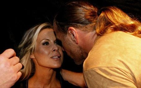 Shawn Michaels and Rebecca Curci