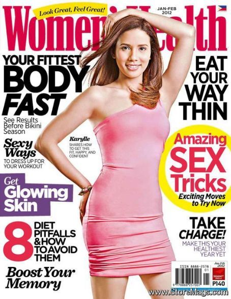 Karylle - Women's Health Magazine Cover [Philippines] (January 2012)