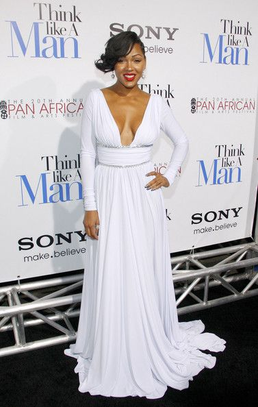 "Meagan Good attending the Los Angeles premiere of ""TLike a Mana Man"" held at the ArcLight Cinemas in Los Angeles"