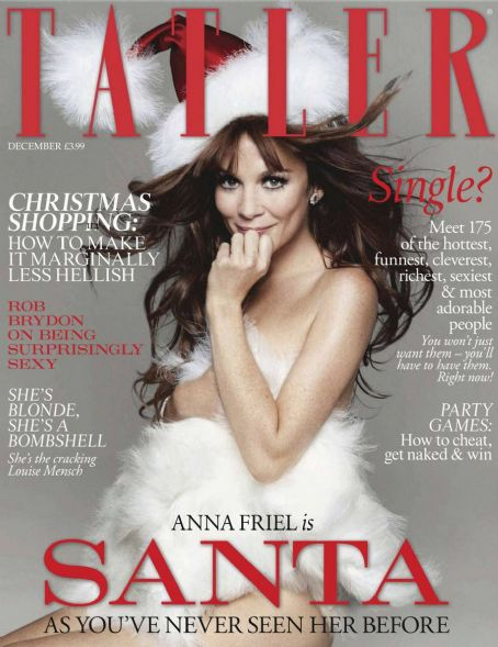 Anna Friel Tatler Magazine UK December 2011