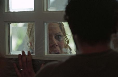 Lexi (Mary McCormack) in RIGHT AT YOUR DOOR. Photo credit: Jim Sheldon.