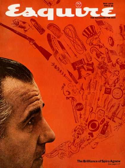 Spiro Agnew - Esquire Magazine [United States] (May 1970)