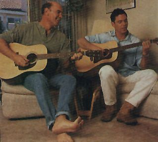 Nicholas Lea Mitch enjoys playing music with X-Files alum and real life friend  (Krycek)