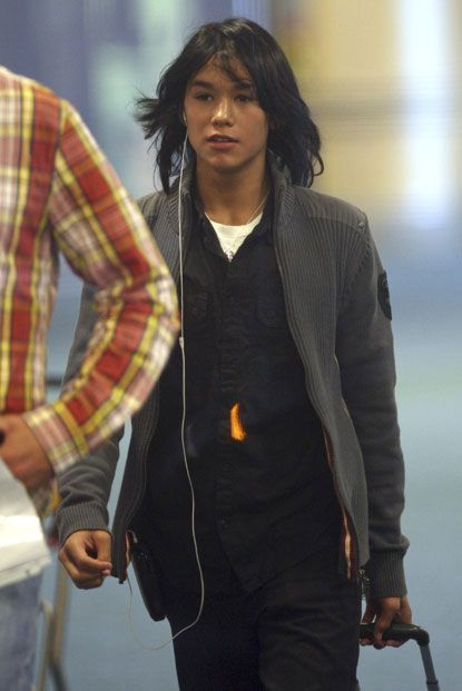 Booboo Stewart Arriving at Vancouver for Eclipse filming