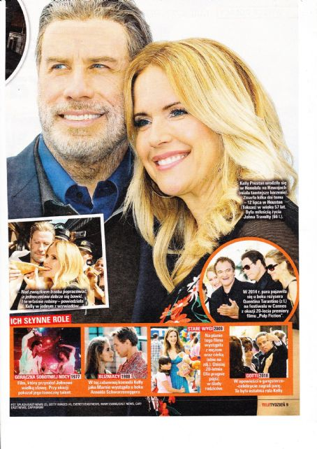 John Travolta and Kelly Preston - Tele Tydzień Magazine Pictorial [Poland] (24 July 2020)