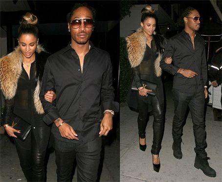 Future (rapper) Ciara and