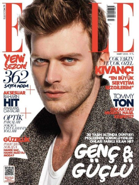 Kivanç Tatlitug, Elle Magazine March 2013 Cover Photo - Turkey