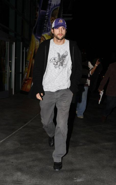 Ashton Kutcher's Solo Night at Staples Center
