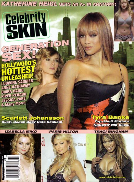 Scarlett Johansson - Celebrity Skin Magazine [United States] (July 2006)
