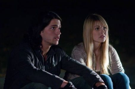 Aimee Teegarden as Nova and Thomas McDonell as Jesse in Walt Disney Pictures' Prom (2011)