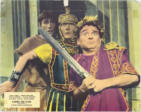 Kenneth Connor Carry on Cleo