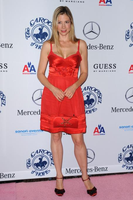 Mira Sorvino-32 Anniversary Carousel Of Hope Gala At The Beverly Hilton Hotel On October 23, 2010 In Beverly Hills, California